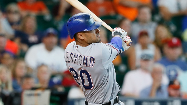 Rangers Win Tight One in Extras, Beat Houston 5-3 in 11 Innings