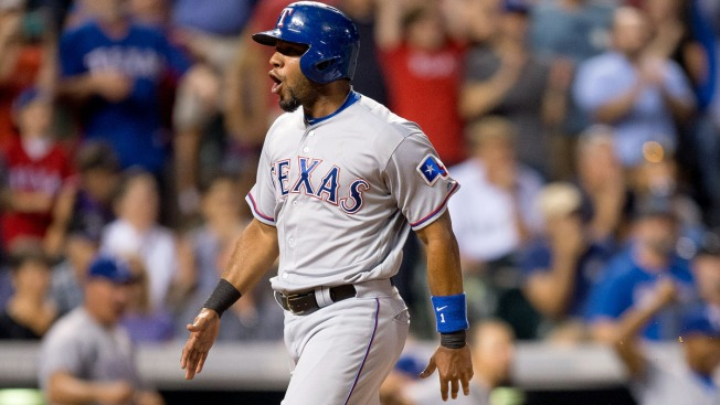 Rangers Rally for 3 Runs in 9th Inning, Beat Rockies 4-3