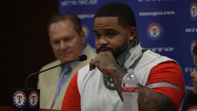 Fielder Back in Rangers' Dugout After Career-Ending Surgery