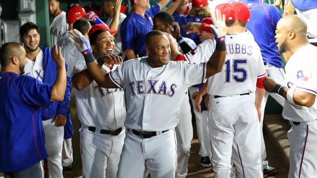 Beltre Slam, Solid Perez Carry Rangers Past Athletics