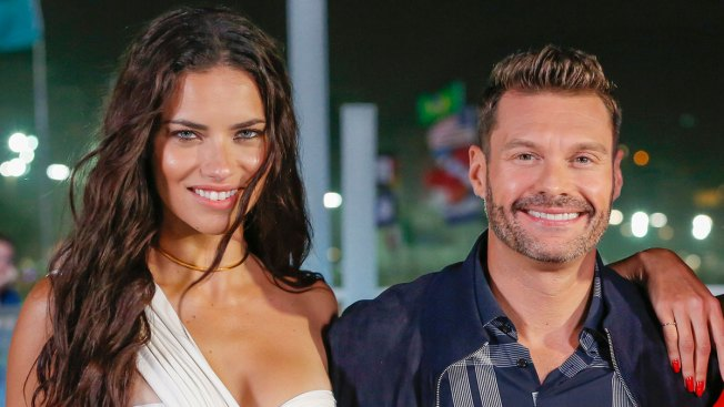 Ryan Seacrest Dating Adriana Lima