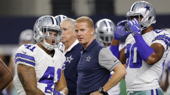 Cowboys' Jason Garrett Named Coach of the Year