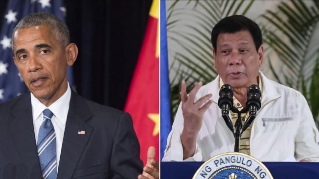 Philippine President Regrets Profanity While Talking About Obama
