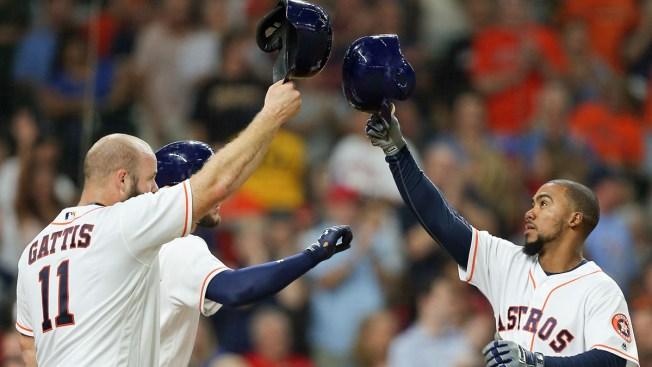 Astros get rare win over Rangers, but lose Altuve, Bregman