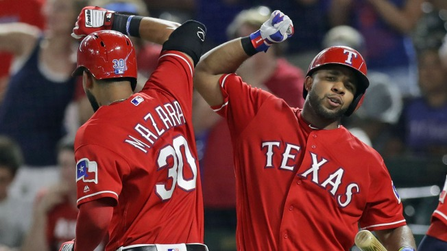 Rangers Closer to AL West Title After Testy Win Over Angels