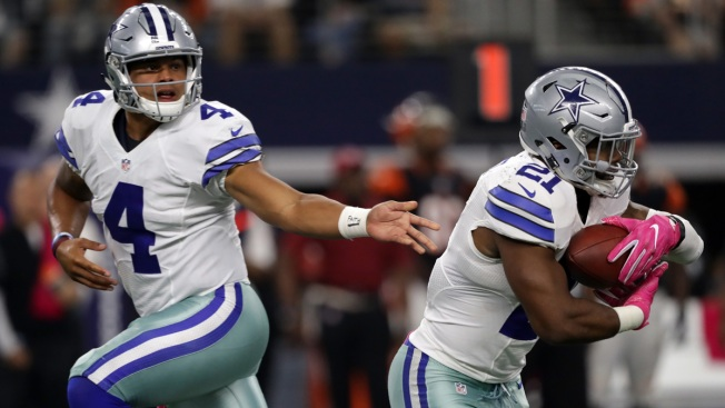 Rookie-Led Cowboys Are 4-1 After Win Over Bengals