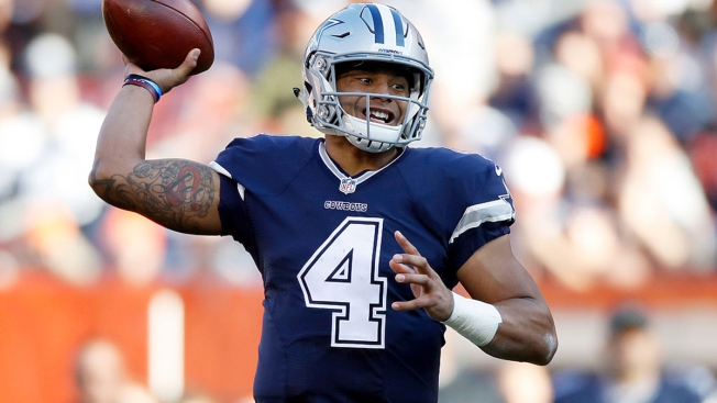 Cowboys Quarterback Dak Prescott Starts Youth Football ProCamp