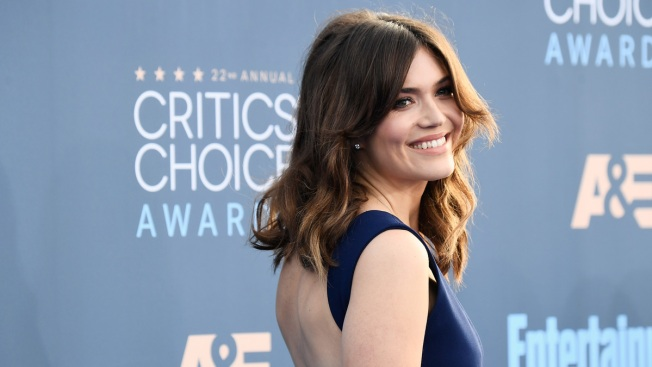 Mandy Moore Reacts to 'Flattering and Terrifying' Shower Mosaic