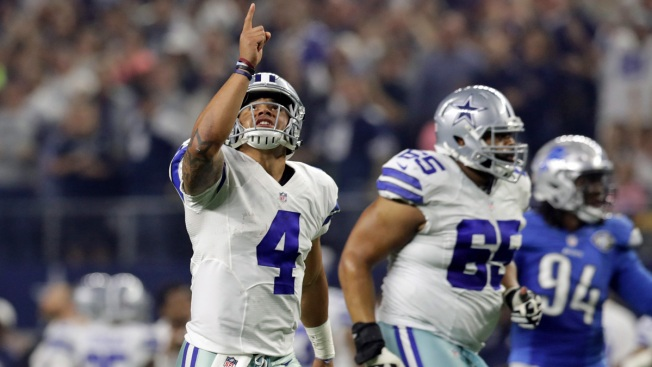 Cowboys' Dak Prescott takes ESPY for breakthrough athlete