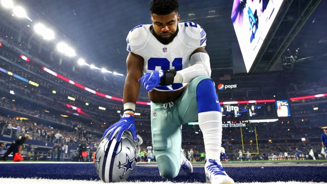 Ezekiel Elliott Reportedly Faces 'Short' Suspension in Domestic Violence Probe