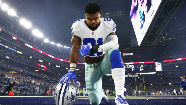Ezekiel Elliott 'Locked In' on Football Amid Legal Battle