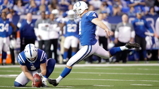 1dcd5bc75 Indianapolis Colts Kicker Reunited With High School Jersey - NBC 5 ...