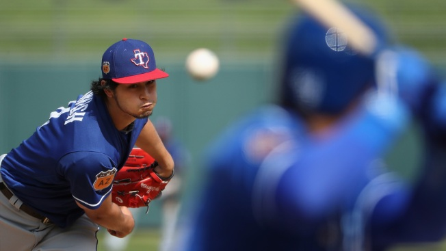 Rangers Go with Yu Darvish to Start on Opening Day