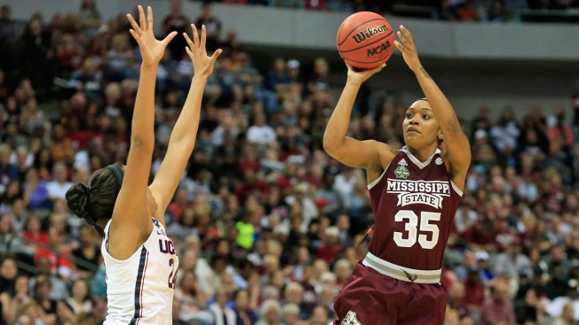 Mississippi State turns to title game after shocking UConn