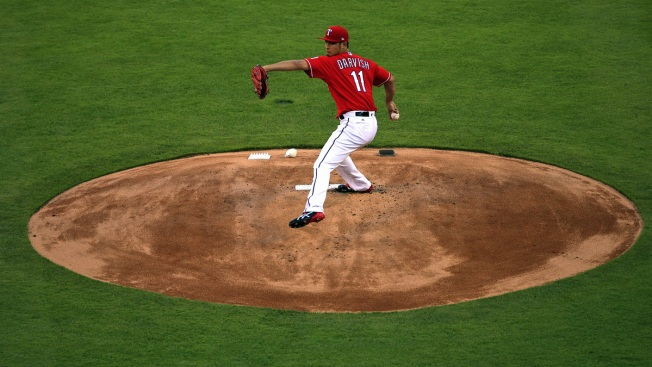 Rangers Starting Pitching Leads the Way