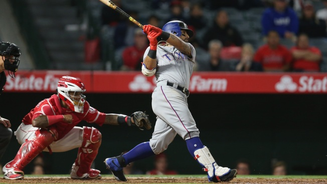 Yu Darvish dominates, Texas Rangers pound Angels again, 8-3