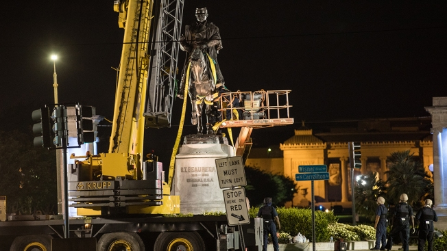 Time Capsule Found at New Orleans Site Where Confederate Statue Removed