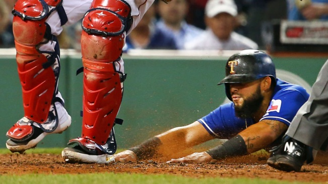 Bogaerts Scores Twice on Wild Pitches, Red Sox Beat Rangers 11-6