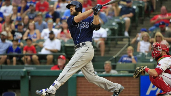 Tenth-Inning Homers Lead Rays Over Rangers 7-5