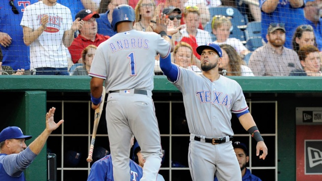 Cashner Gets Homer Help, Pitches Rangers Over Nationals 5-2