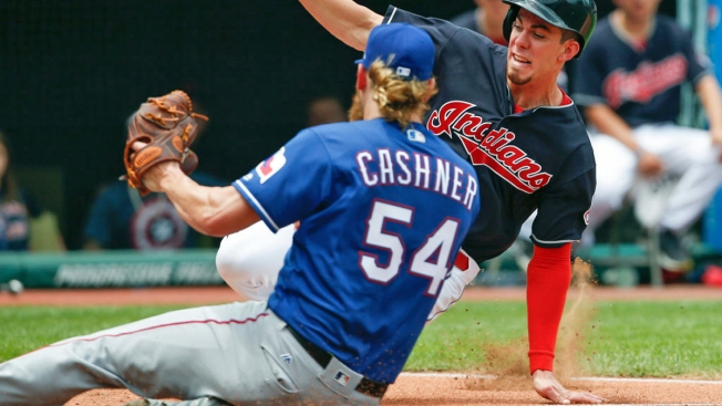 Kluber Strikes Out 12 as Indians Beat Rangers 5-1