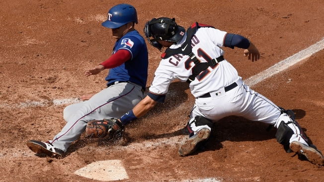 Twins Rally From 5-0 Deficit to Beat Rangers, 6-5