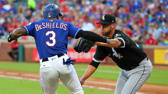 Delmonico's Inside-Park HR Lifts White Sox Over Rangers 4-3