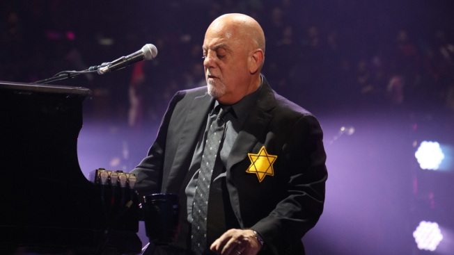 Billy Joel Makes Statement Against Hate Wearing Star of David at New York City Performance