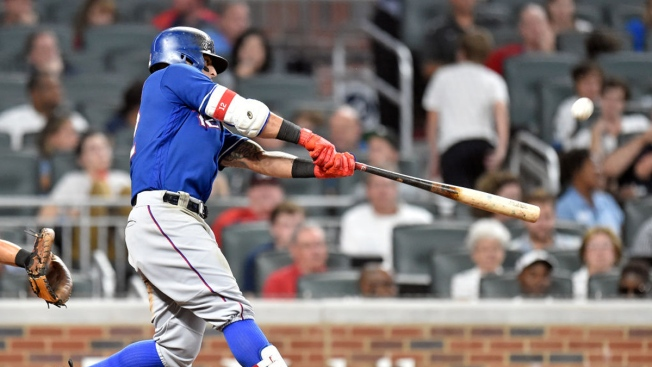 Homer-Happy Rangers Take Easy Win Over Braves