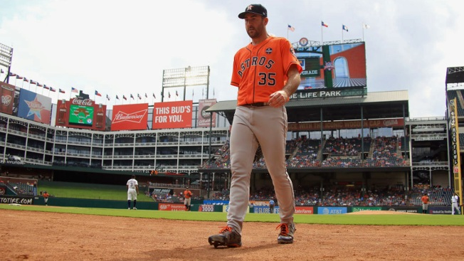 Verlander, Altuve, Astros Wrap Up Sweep, Rout Rangers 12-2