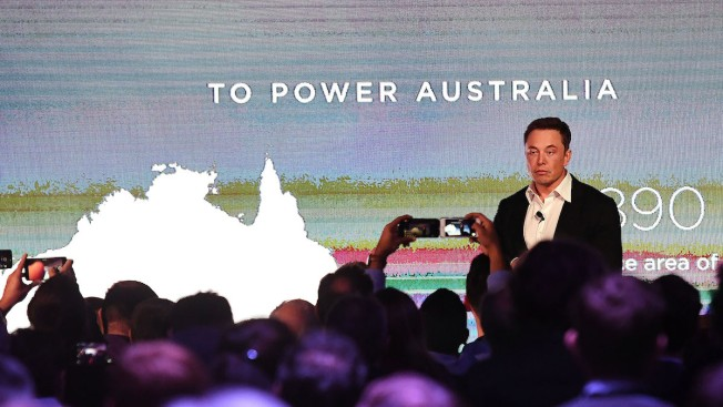 Tesla Builds World's Biggest Battery in Australian Outback