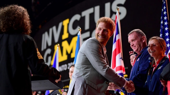 Prince Harry's Invictus Games Ending in Canada
