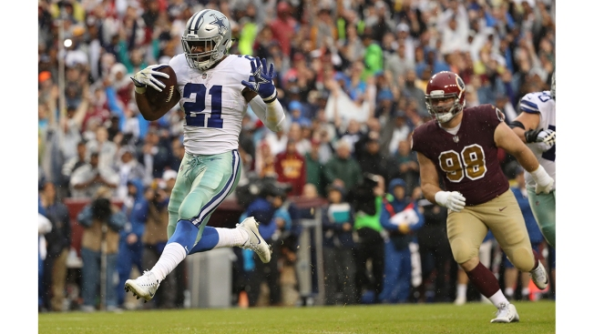 Cowboys' Ezekiel Elliott returns from six-game suspension