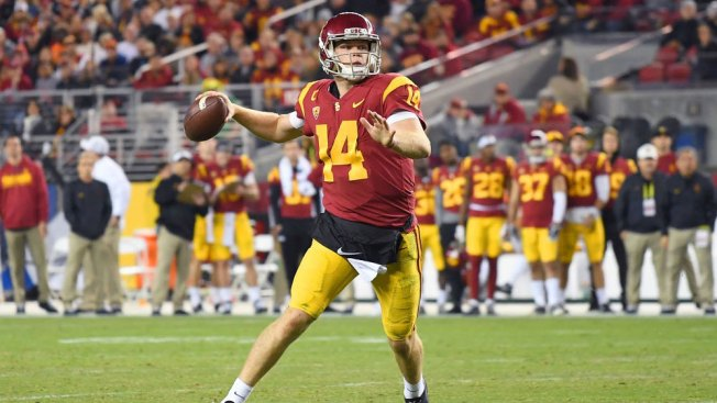 QB Darnold Could Be Making His Last USC Start in Cotton Bowl