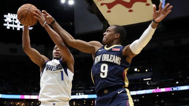 Dennis Smith Jr. Has Triple-Double, Mavs Beat Pelicans