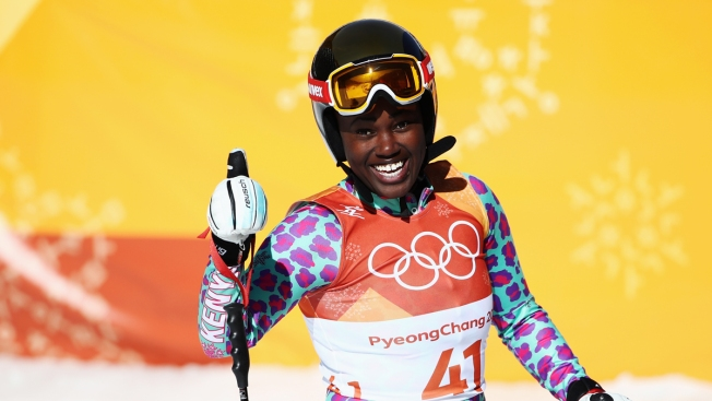 Kenya's First Olympic Alpine Skier Sabrina Simader Thrills in Debut