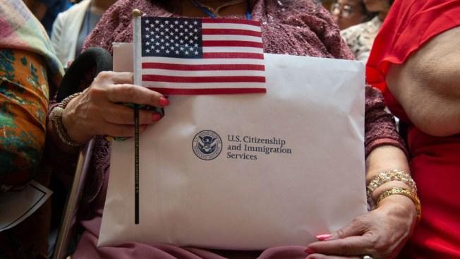 Little Boy Has Big Dreams as He Gains US Citizenship