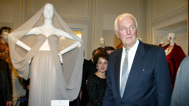 Givenchy, Designer of Hepburn's Little Black Dress, Dies at 91