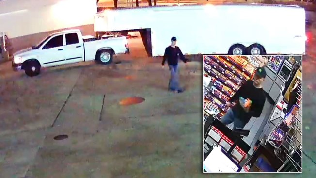 Grapevine Police Search for Man Suspected of Stealing 1,600 Gallons of Diesel Fuel From Gas Station