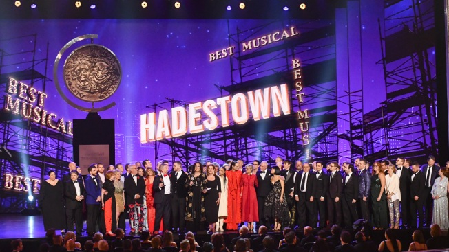 'Hadestown' Captures 8 Tony Awards, Including Best Musical