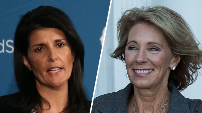 Trump Chooses Women for Cabinet: Haley for UN, DeVos for Education