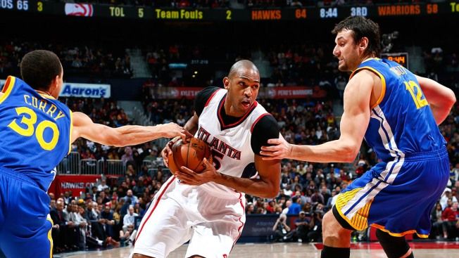 Hawks Beat Warriors,124-116, in Battle of NBA's Best