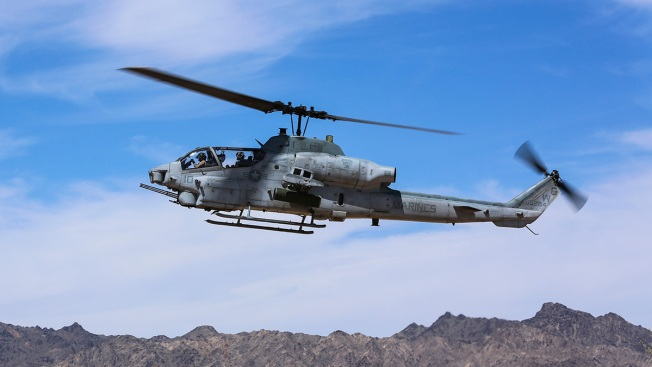 USMC Identifies Pilots Killed in Helicopter Crash in Yuma
