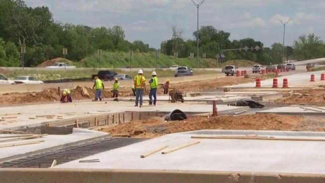 Progress On Hwy 175 S M Wright Freeway To Boulevard Plan