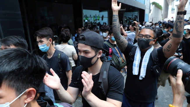 Hong Kong Protesters End Blockade of Police Headquarters