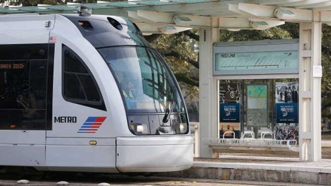 Houston S Public Transit System Considering Rail