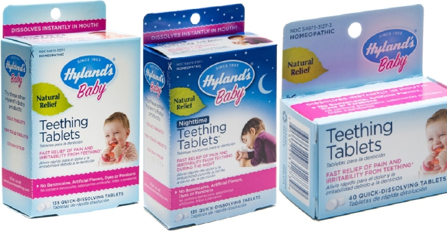 Hyland's Teething Tablets Recalled Over Levels of Toxic Herb