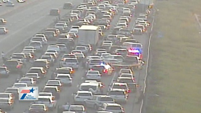 I-30 Westbound in Grand Prairie Reopens After Crash, Fire