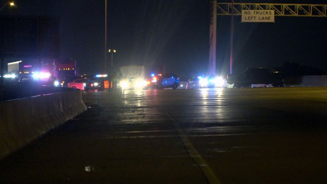 I-820 in Fort Worth Open Following Major Crash