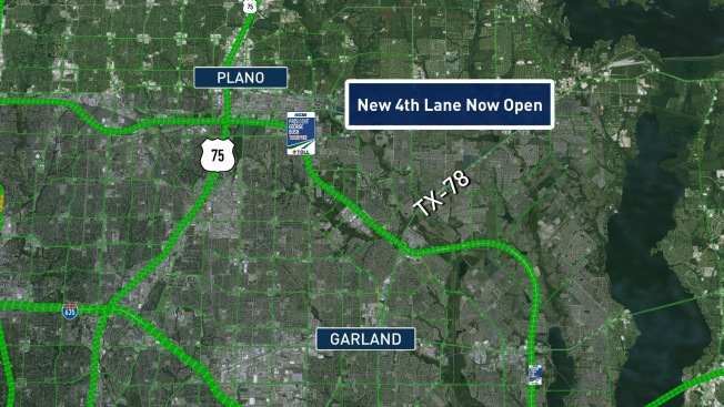 Construction Complete on Portion of PGBT in Plano